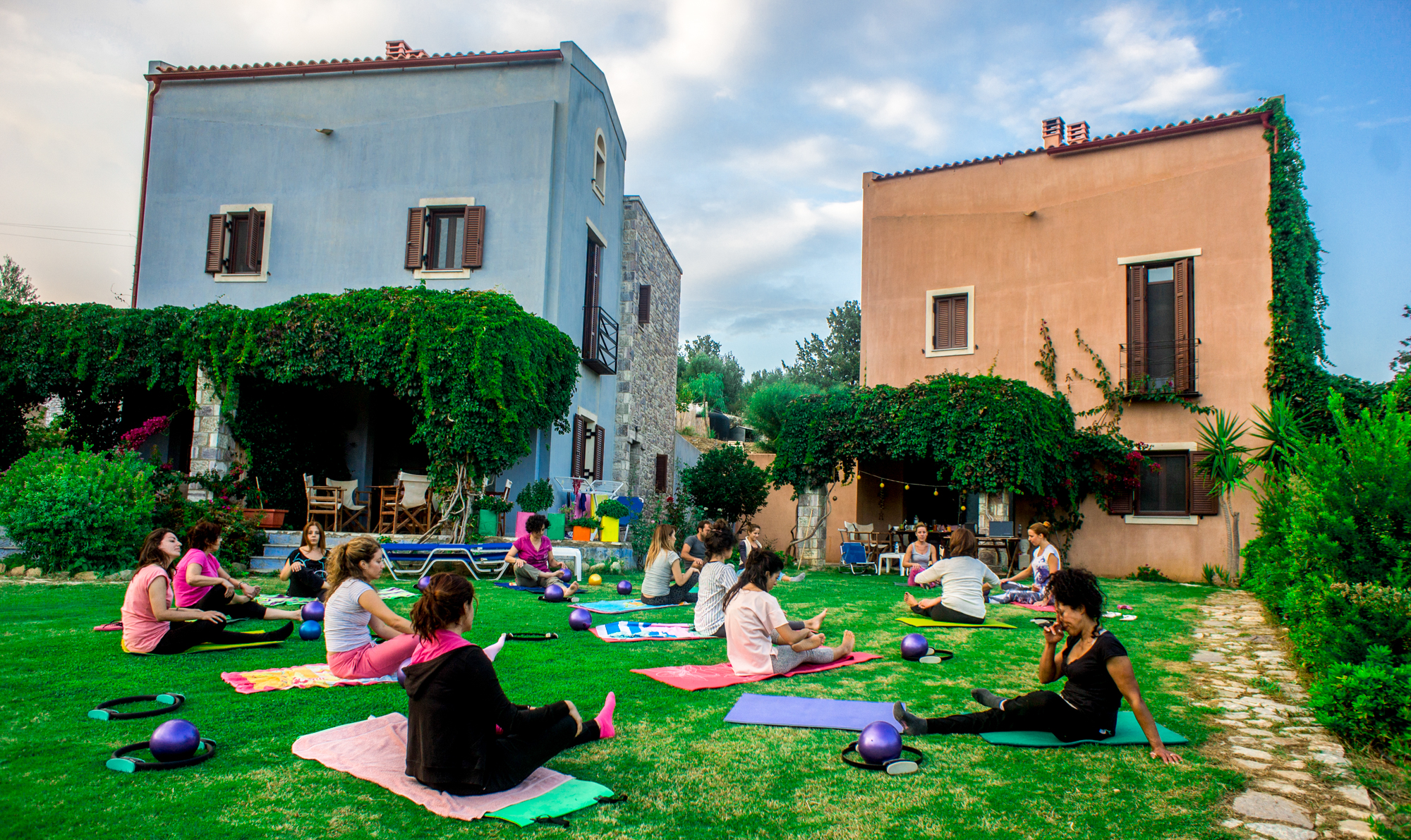 Yoga Event στο Chara Houses